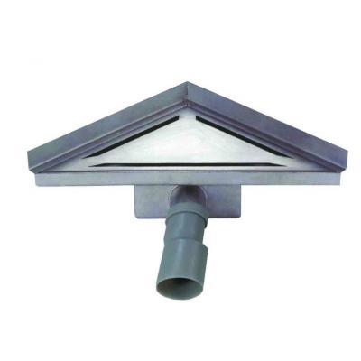 SCARETO ANGOLO - ΚΑΝΑΛΙ ΓΩΝΙΑΣ L 25x25cm ST/ST304+ΣΙΦ Φ40/50