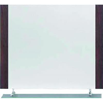 WENGE-GLASS ΚΑΘΡΕΦΤΗΣ120Χ80Η+ΕΤΑΖΕΡΑ.