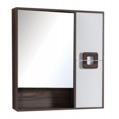 HOTEL -  ΚΑΘΡΕΠΤΗΣ PVC 80x13x80h cm - WENGE WHITE