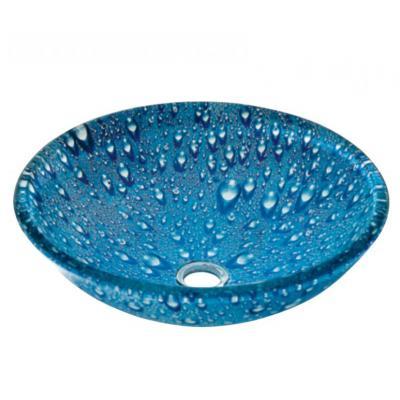 GLASS NIΠΤΗΡΑΣ  DIA 42*145 BLUE DROPS