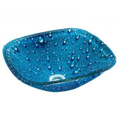 GLASS ΝΙΠΤΗΡΑΣ  40*40*13  BLUE DROPS